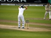 Joe Root displays a Test Match leave