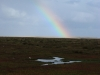 Rainbow over Stiffkey marshes