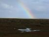 Rainbow over Stiffkey marshes