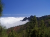 Sea of clouds outside the caldera